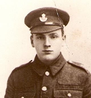 Charles Samuel Nichols, Private,  14th Batallion Durham Light Infantry