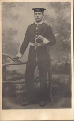 William Charles Yates, lance corporal