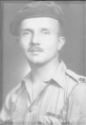 Percival 'Hugh'  White, Major - Middlesex Regiment and sent to Burma with the 12th Army based in Rangoon