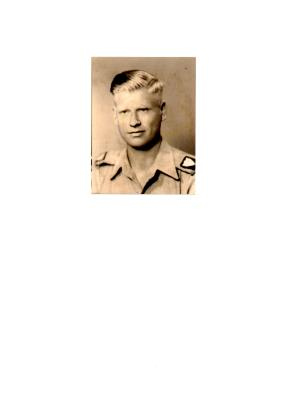 Albert wicker, Corporal, 629 Field Squadron Royal Engineers.