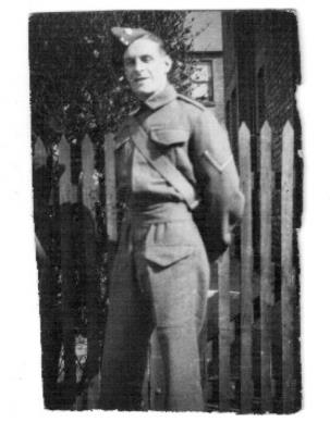 Herbert Lansbury  Ward , Company Quartermaster Serjeant