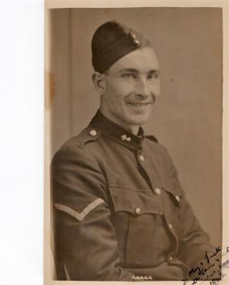 Idris Smith, Corporal  7th Royal Welch Fusiliers