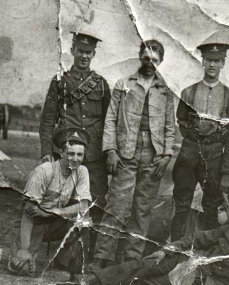 William Harold Story, Gunner RFA Territorial Army
