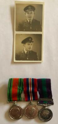 Charles Reid, Squadron Leader RAF Medical Service