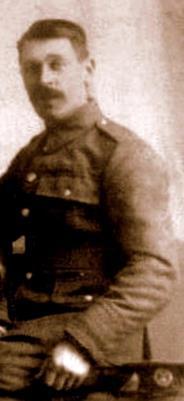 Arthur Wells, Private Hampshire Regiment