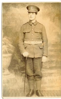 Henry J Salway, Sapper. Royal Engineers. Somerset Light Infantry. Service No. 508252