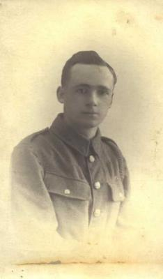 Dyson Kewley, Private,  10th Battalion Kings own Light Infantry service No 37192