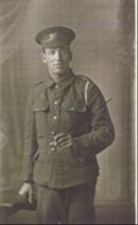 Henry Leeming, Private Kings Own Royal Lancaster Regiment 11185 D Company Snipers Section