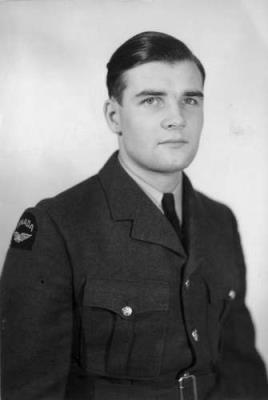 John Foster Potter, Rank: Flying Officer           Unit: Royal Canadian Air Force Service Number: J23136