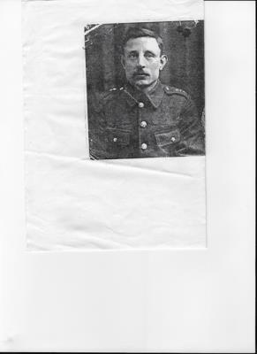 James Pelow, Private  24454  1st Battalion  Royal Dublin Fusiliers
