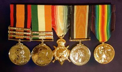 Patrick  Hagan, Sergeant Royal Scots, 11th Battalion
