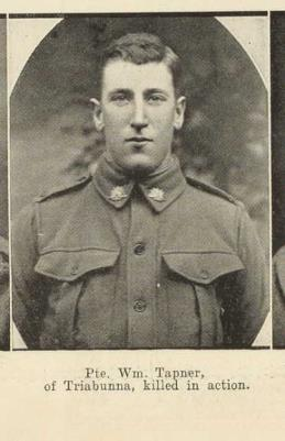 William  Tapner, 945 40th Btn Austrialian Inf A.I.F
