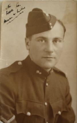 SIDNEY MOSELEY, CORPORAL, 9th Royal Fusiliers   DoD: 9th May 1943 Served in Africa with the 8th Army.