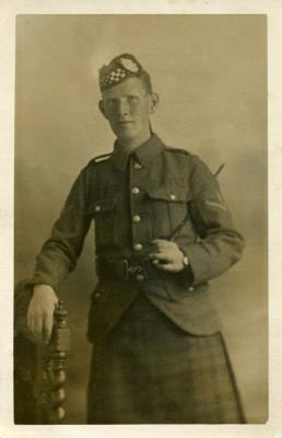James  Weir, Lance Corporal, Argyll Ans Southern Highlanders