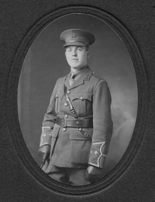 Arthur George Courtice, Lieutenant - 4th East Kent Regiment ( The Buffs)