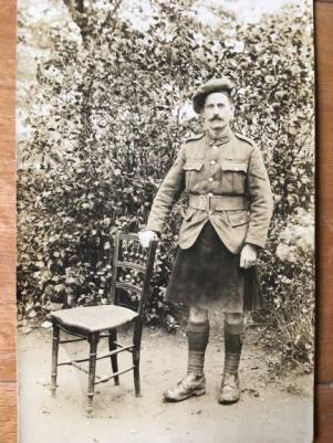 James Henry Joyce, Private,9th Battalion,  Royal Scots Hrs. Bomber 48311