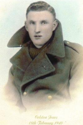 Colston Jones, King's Shropshire Light Infantry  4105544