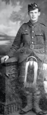 James Wilson, Pvt 265411. 4th Btn Seaforth Highlanders
