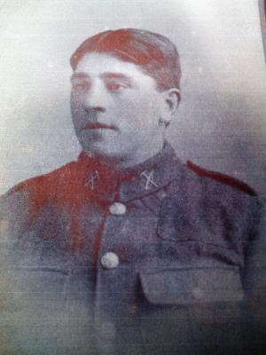 Walter Hill, Lance sergent/ Duke of Cornwalls Light Infantry