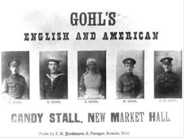 Edward Gohl, Artillery