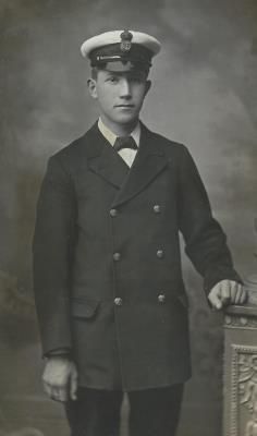 Edwin George Spencer, Electrical Artificer,  Royal Navy