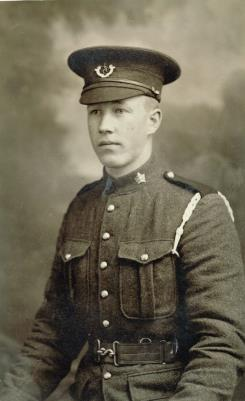 Arthur Henderson Johnston, Private, The Royal Winnipeg Rifles, 8th Division,  Second Battle of Ypres, 1915