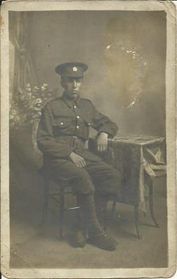 John Jerome Hughes, Devonshire Regt./Private
