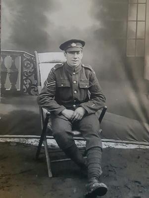 Charles Henry DAY, RNVR.  Service number Tyneside Z/9039