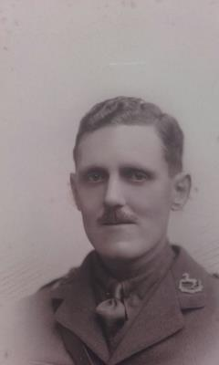Alfred Rothwell Carr, Second Lieutenant