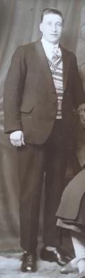 Lewis Shervill, Private, Hampshire Regiment