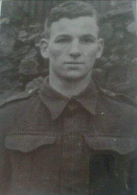 John Slater, 3909248 Private 2nd Battalion South Wales Borderers