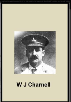 Walter John Charnell, Private 3rd Battalion, Royal Warwickshire Regiment