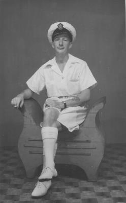 Richard Tonkin Pollard, Merchant Navy, North Atlantic, HMS Jamaica