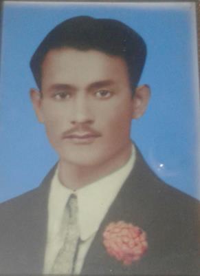 Allah Dad, Service Number 20577 3/8 Punjabis Indian Army