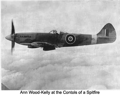 Ann Wood-Kelly, Pilot/Air Transport Auxiliary