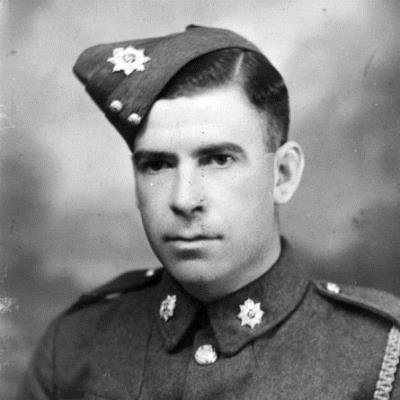 John (Jack) Hackett, Driver 1 Support Company Royal Army Service Corps died 1942