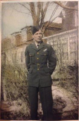 Robert James  Middlemas, Air /Bmr Flight Sergeant R/155997