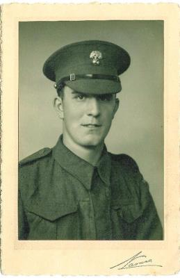 Gerald Hamblin, Guardsman 1st Battalion Grenadier Guards Kings Company